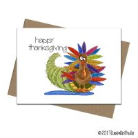 Thanksgiving Holiday Turkey cornucopia