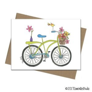 bicycle flowers