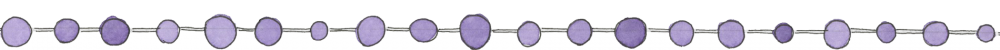 Watercolor bottom border for slider