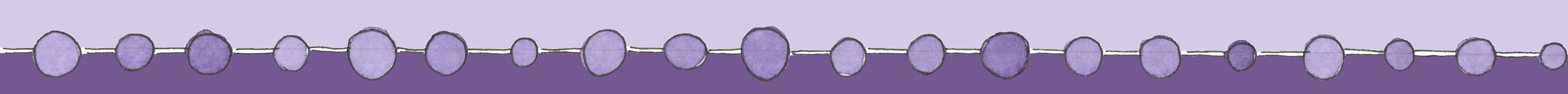 purple dot divider