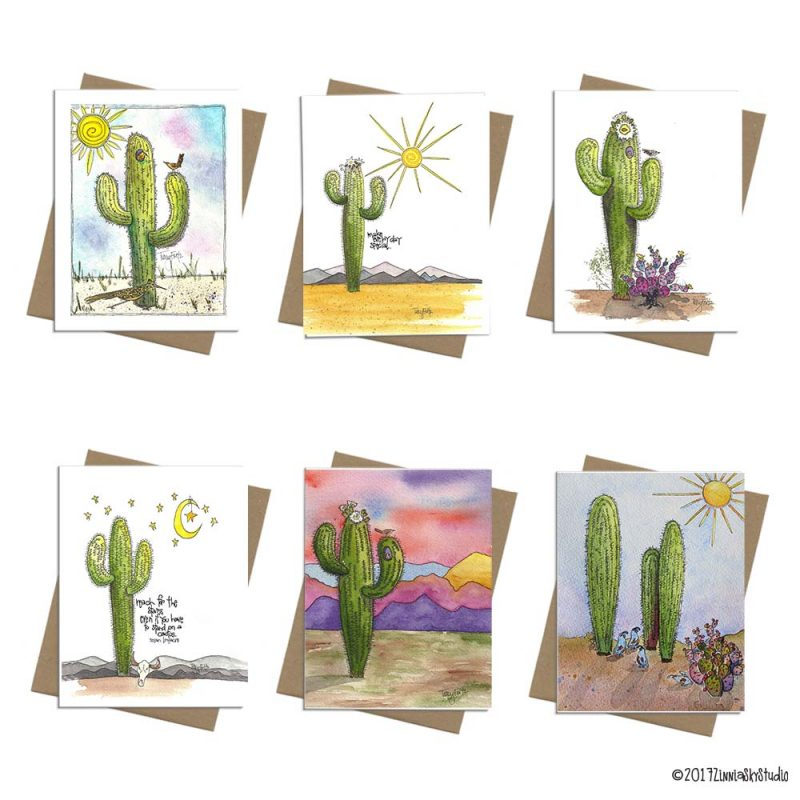 NS3003 Bunch of Saguaros