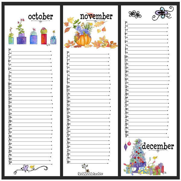 southwest perpetual October November December