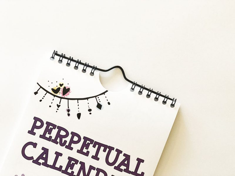 southwest perpetual calendar binding