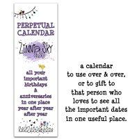 southwest perpetual calendar cover