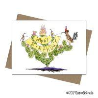 C0028 birthday prickly pear quail
