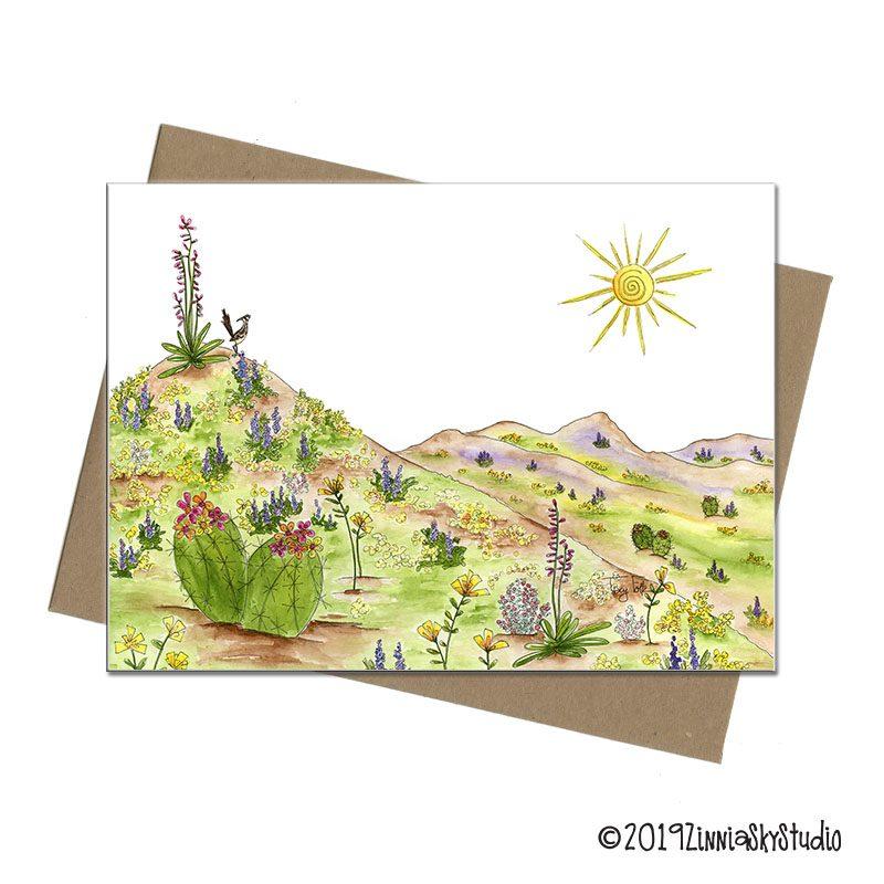 C0407 Desert Wildflowers