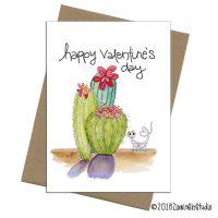 C3218 Valentine Succulent Lizard