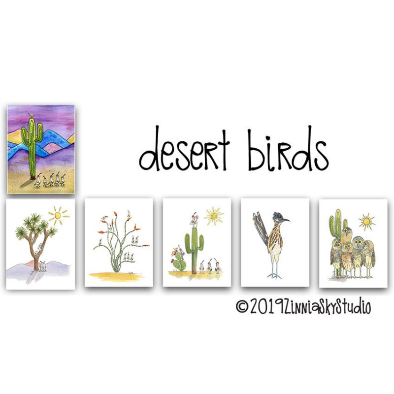 NS3007 Desert Birds
