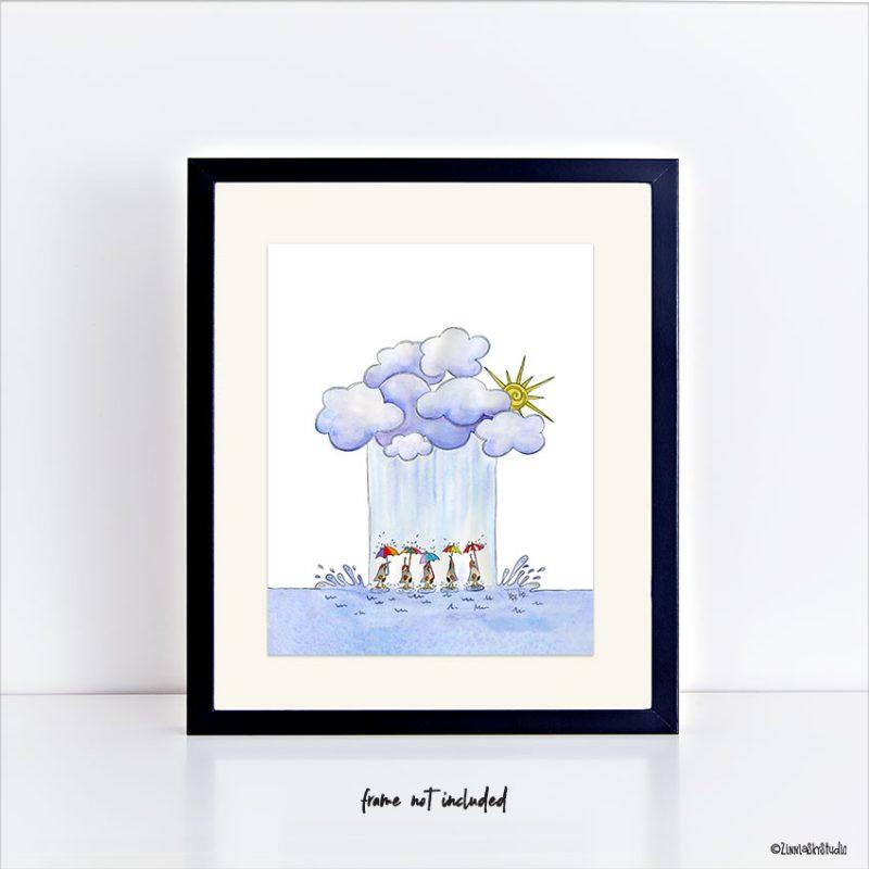 080502 monsoon quail art print