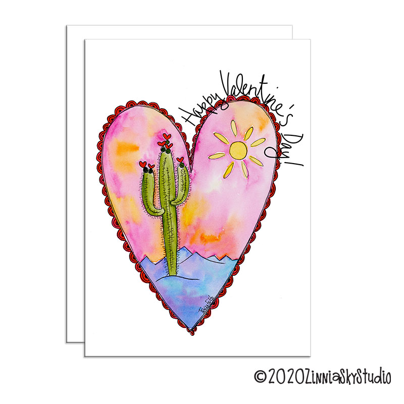 cactus heart frame