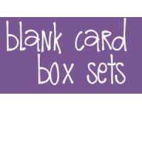 Blank Card Box Set