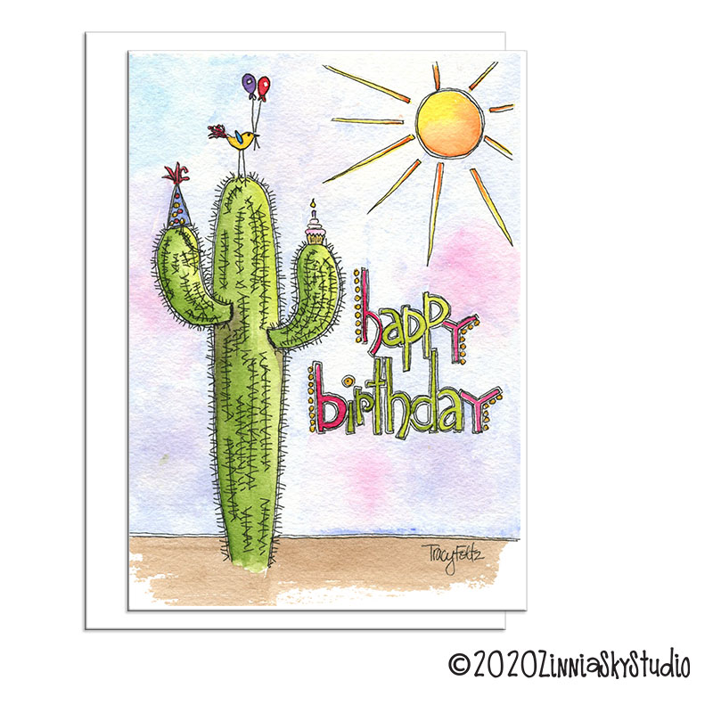Birthday Southwest Cactus