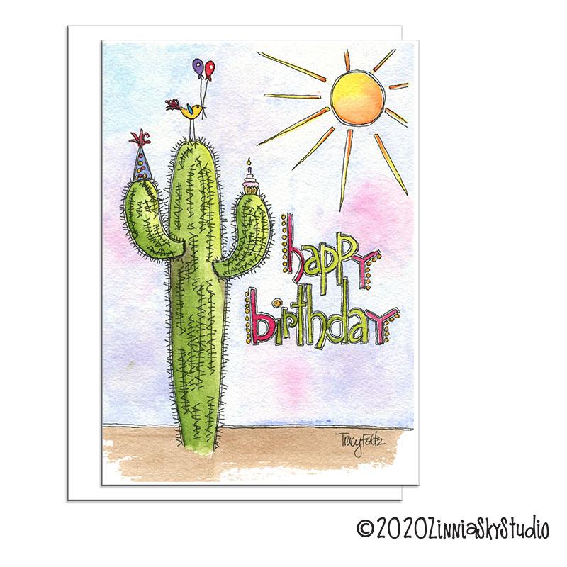 Birthday Southwest Cactus