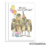 birthday owl whooo