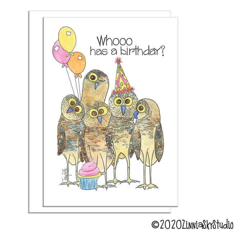 birthday owl whooo