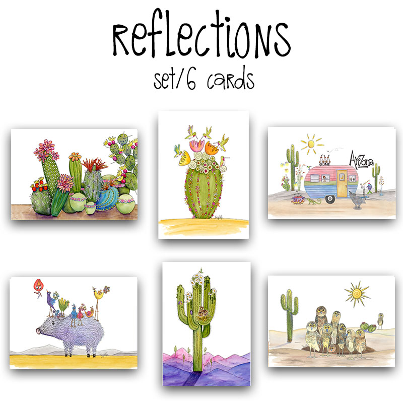 B3008 Southwest Reflections Card Box Set
