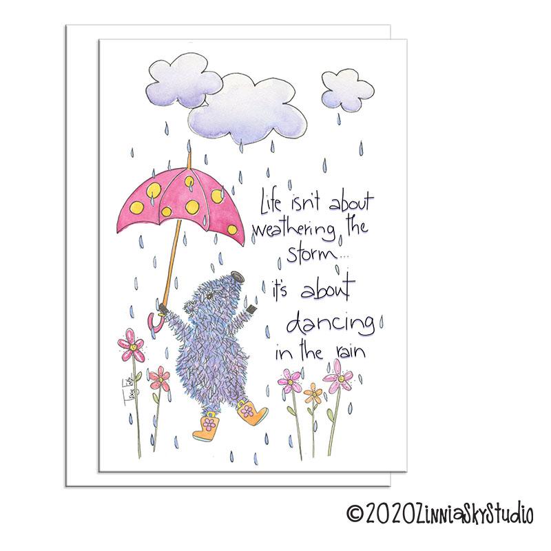 C0506 dancing in the rain javelina encouragement