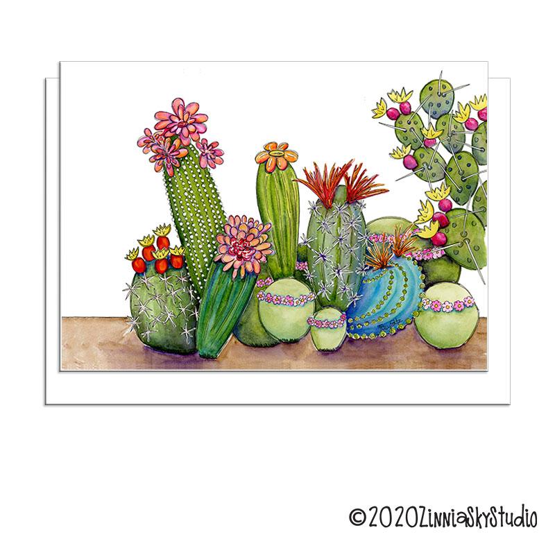 southwest succulent medley