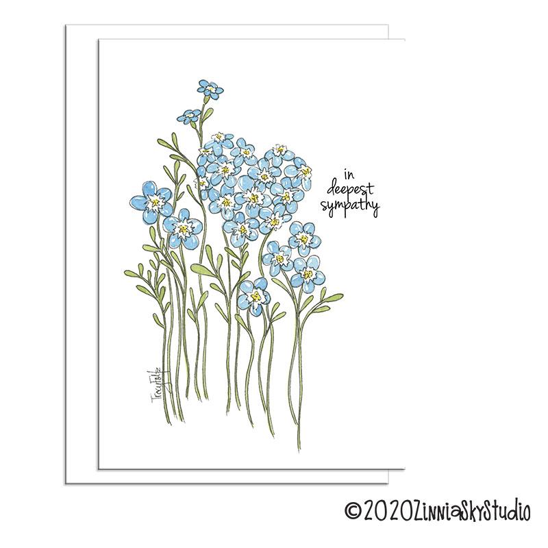 C1911 Sympathy Blue white