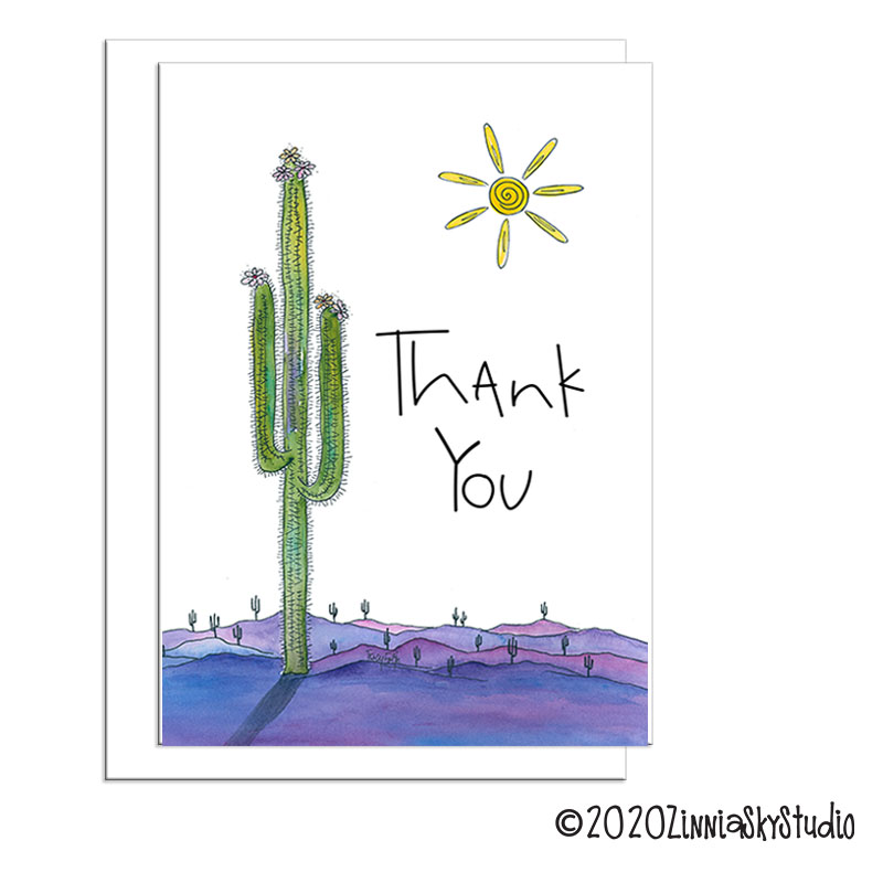 C2018 Thank You Saguaro Tall