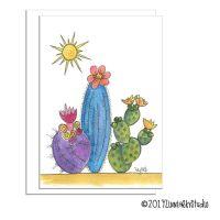 southwest Cactus Trio
