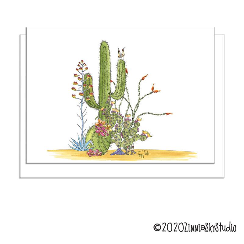 desert cinco cactus