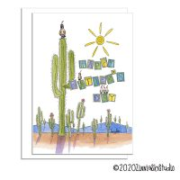 C3315 southwest cactus mountains fathers day