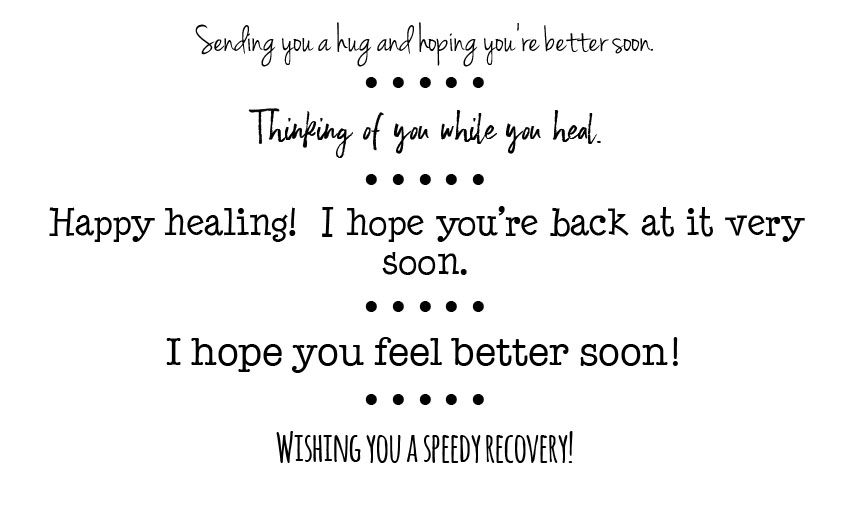 get well words