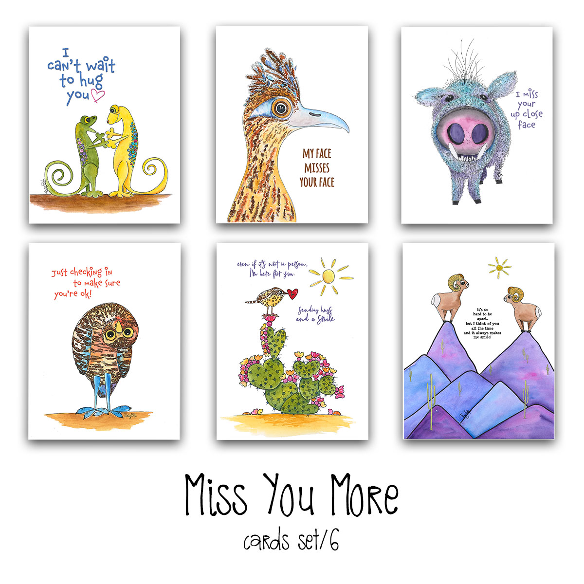 Miss You More Card Set