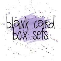 Blank Card Box Set