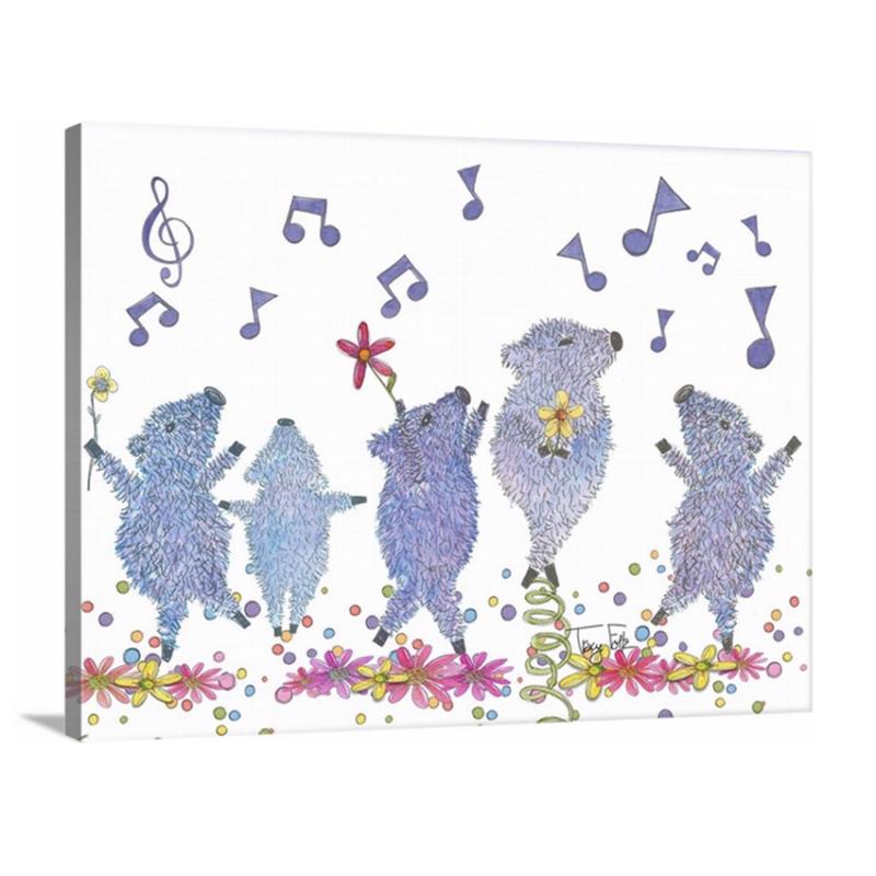 dancing javelina pigs