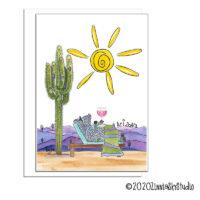 sun giant blank card