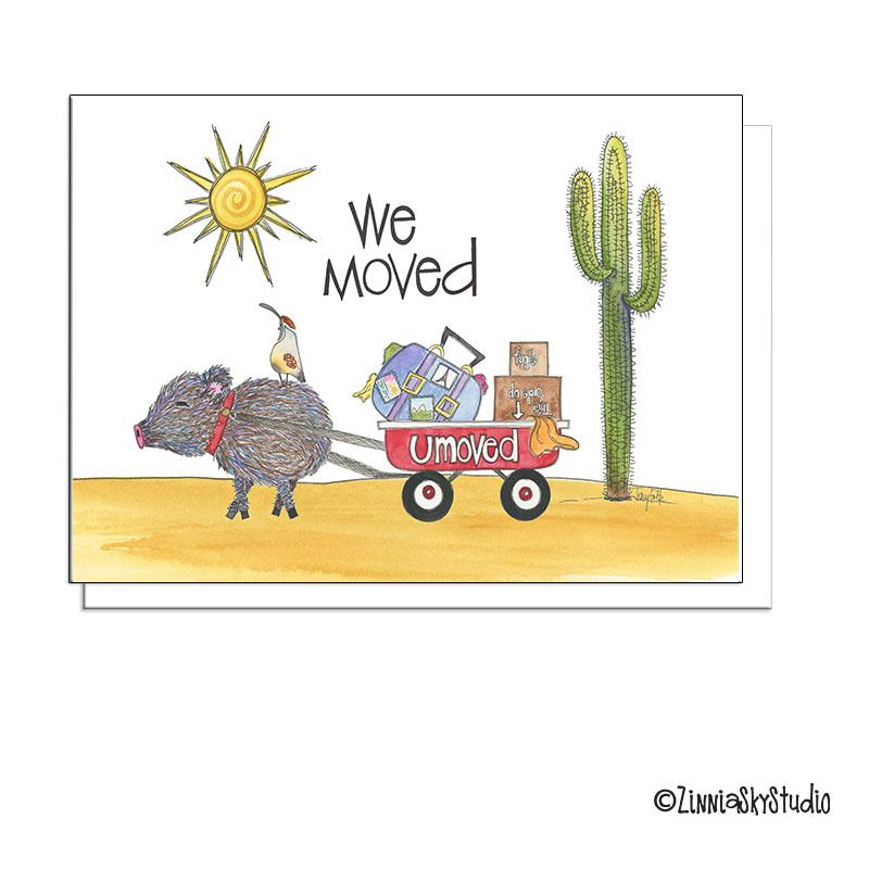 southwest javelina we moved moving card