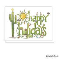 southwest holidays card