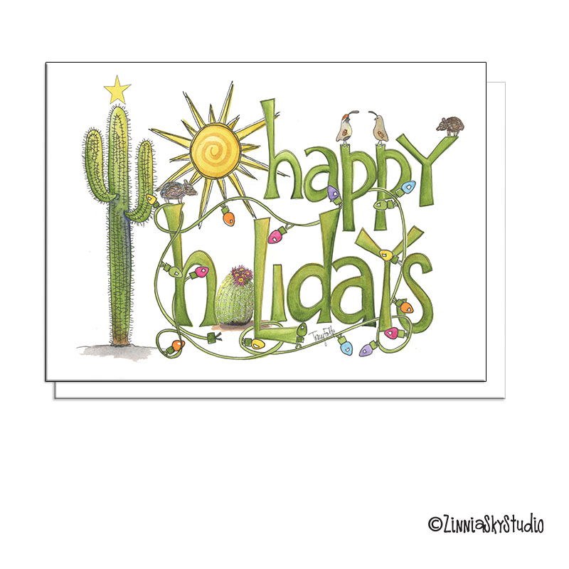 southwest holidays card