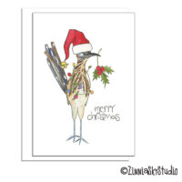 southwest road runner christmas card