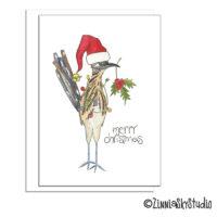 southwest road runner christmas card