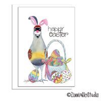 southwest imposter quail easter card