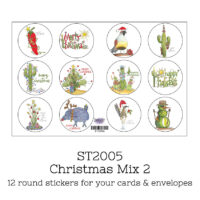 stickers christmas mix 2