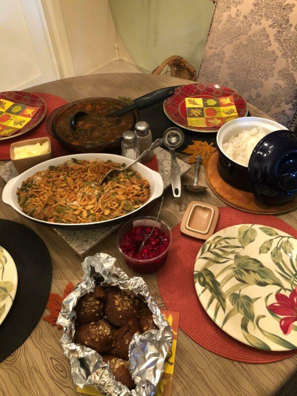 new family thanksgiving