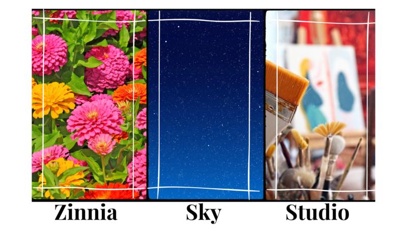 about zinnia sky studio