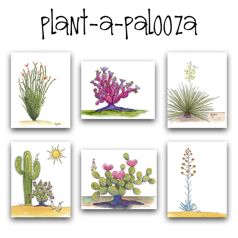 plant a palooza note card set