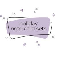 Holiday Note Card Sets