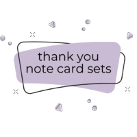 Thank You Note Card Sets