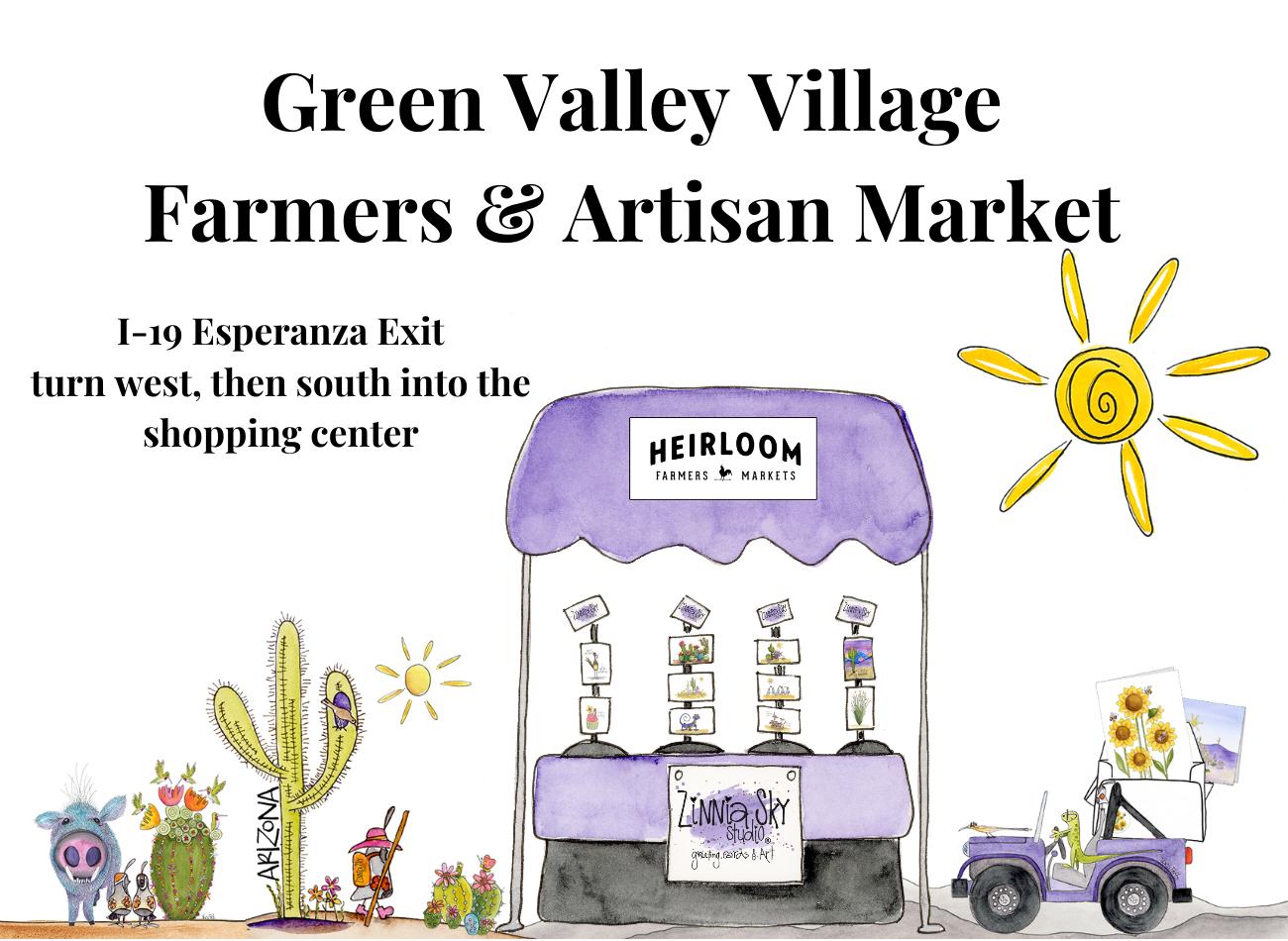 green valley village farmers & artisan market